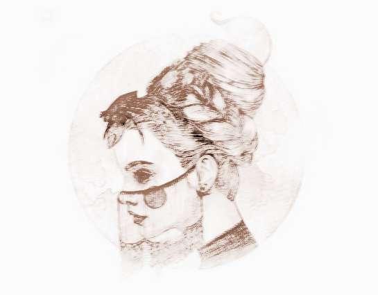 巨蟹座跟十二星座配摩羯座少女美动漫图片