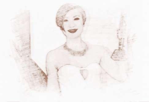 2010年,田蕊妮在无线剧《读心神探》中首度担任第一女主角.