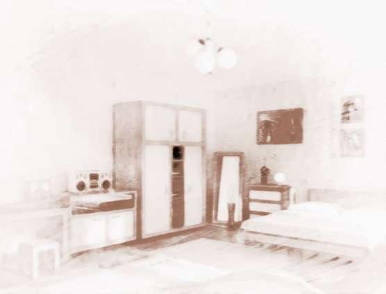 乌金摆设家具房间讲究吗是家具贴的木衣柜皮图片