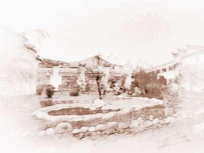 假山的风水 庭院假山水池风水