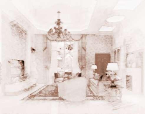 客厅沙发背景墙风水_祥安阁家居风水