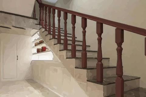 【楼梯对门口风水好吗】楼梯下摆放风水 摆放这些物品不好