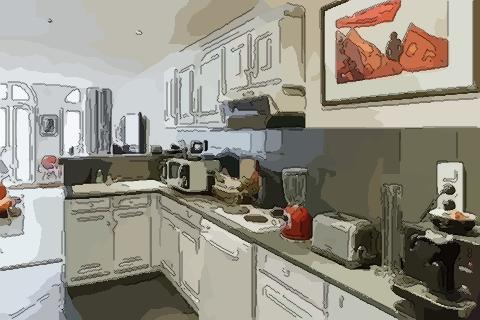 厨房颜色风水 厨房颜色不对会带来霉运