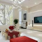 有哪些招財風水壁紙 客廳壁紙顏色風水講究