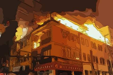 梦见房顶起火