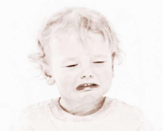 梦见孩子哭哄孩子