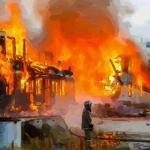 梦见房子着火搬家