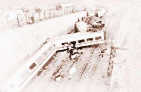 做梦梦见火车脱轨是什么意思_周公解梦