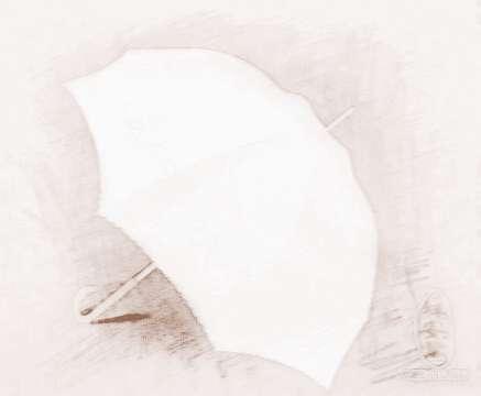 卷雨伞步骤图片