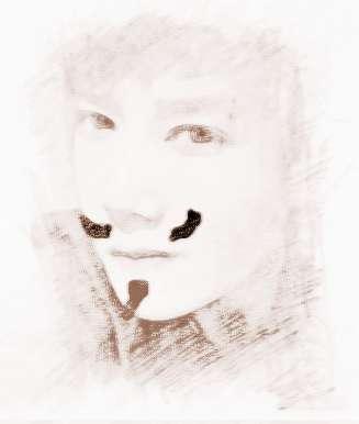 面相上方有痣眉毛思考包表情黑人图片