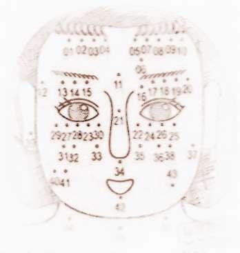 女性的面痣算命-面相痣算命图解图片