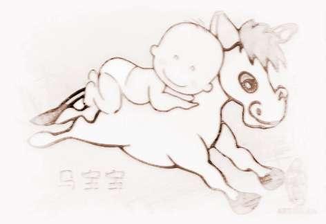 属马的小孩起名宜用字   一、起名宜用草字头.马是吃草的动物,带草