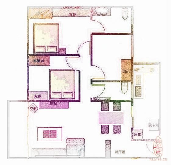 房子风水图解