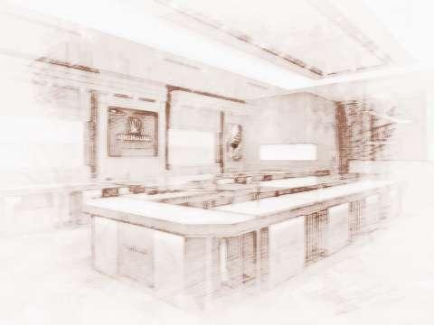 店铺收银系统_店铺收银桌摆放风水你了解吗?