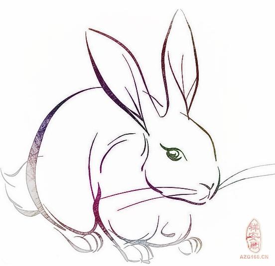 一个诱惑动物的陷阱简笔画