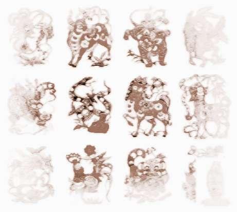 十二属相传奇-十二生肖传奇_祥安阁十二生肖图片