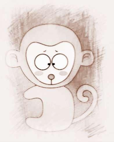 属猴微信吉祥发财头像
