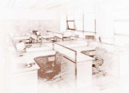 (8)办公室座位旁不能有大垃圾桶或杂物