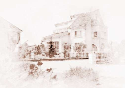 別墅三角造型房頂