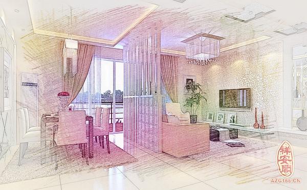 餐厅方形灯风水