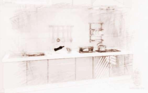 欧式方格厨房家具板材