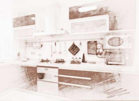 店铺厨房风水如何装修与布局