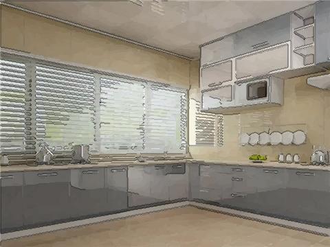 厨房装修常见风水事项介绍:方位很重要