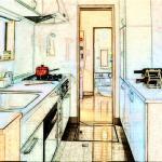 厨房门对卫生间门有什么影响