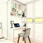 书桌背后没有墙的化解方法