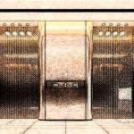 大门对电梯门应该如何化解