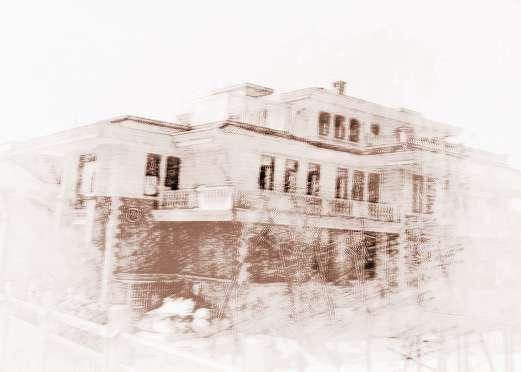 人字型农村别墅屋顶
