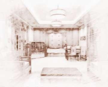 客厅横梁凸出装修图