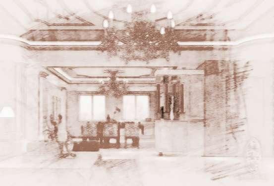 客厅装修风水注意事项 一,方位 客厅最好位于住家的前半部靠近