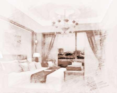 有落地窗的客厅和卧室,窗帘建议选用此款.