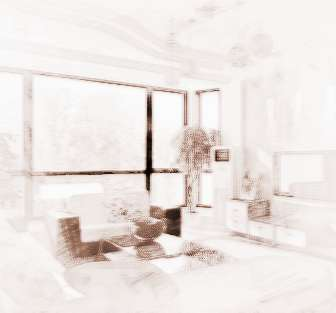 家庭客厅屋顶装潢图片