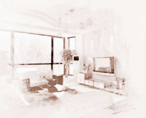 客厅风水电视背景墙的讲究