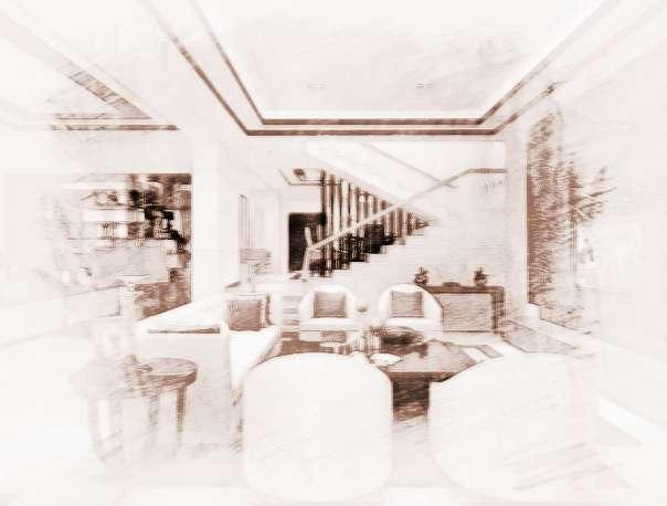 如果独立柱和墙壁之间的距离较远,可以考虑用矮柜或木板将它们连接起来。如用矮柜,可以增加景深,开阔视野,让客厅看上去更加活泼、开放;如使用花草或挂画对连柱的壁板进行装饰,客厅会增色不少。如果矮柜不够用,也可以选用高柜,但在美观方面会有所欠缺。为避免木板墙的单调,最好在木板墙上设计装饰灯。