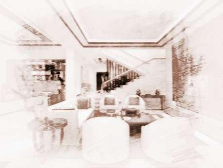 客厅家具风水布局的讲究图片