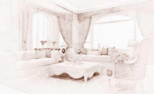 1、沙发的形状:客厅沙发最好是以圆形或者方形为主,因为在风水学中认为,圆形和方形乃是天地的形状,圆形和方形符合天圆地方的说法,只有天地才有稳定风水气场的作用,而其他形状都可能会导致气场的紊乱,致使在客厅中的风水气场混乱,以至于对家人健康造成不利。