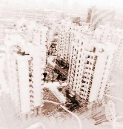 五间楼房外观效果图