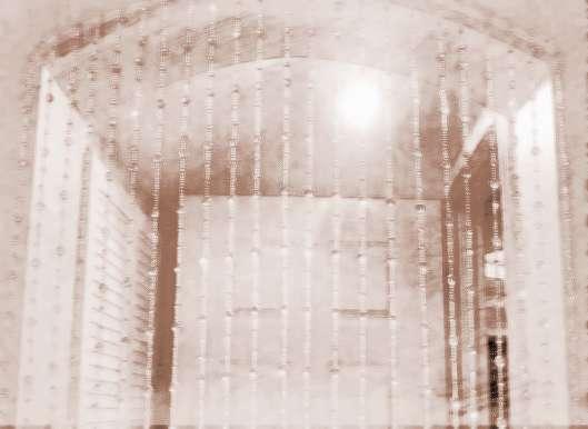 水晶门帘对房间的风水作用