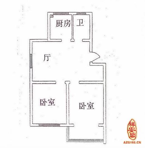 怎么解决厨房门对着卧室门