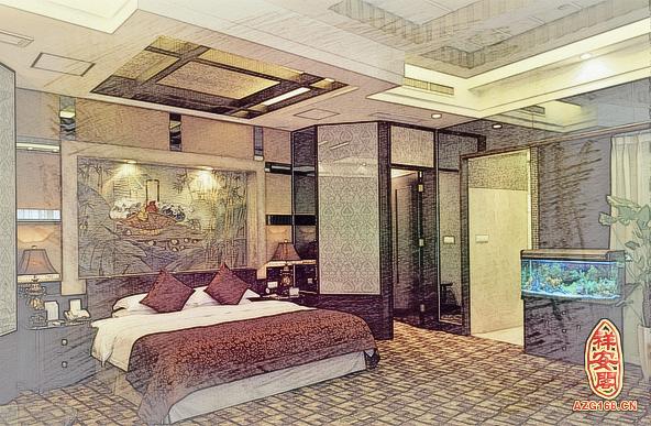 卧室里放鱼缸的龙8国际官方网站