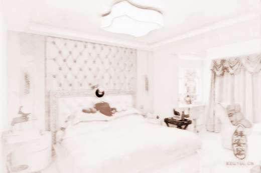 客厅放床隔断效果图
