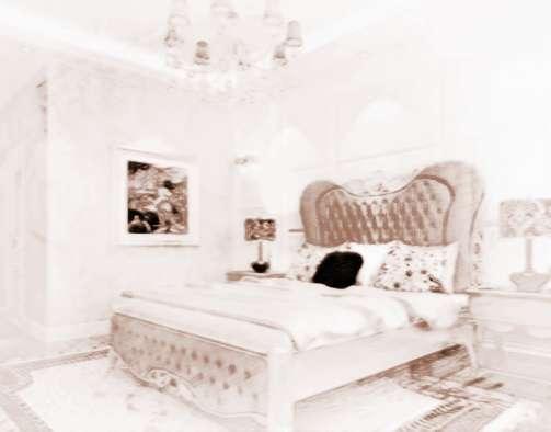 如此厚厚的窗帘如装饰在卧室