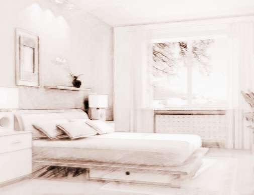 别墅室内风水卧室的布局图|别墅室内风水卧室的布局常识