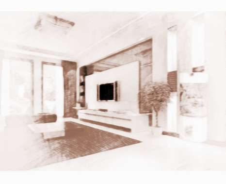新房装修客厅风水设计 1,位置禁忌:进门不见客厅,大门与客厅之间