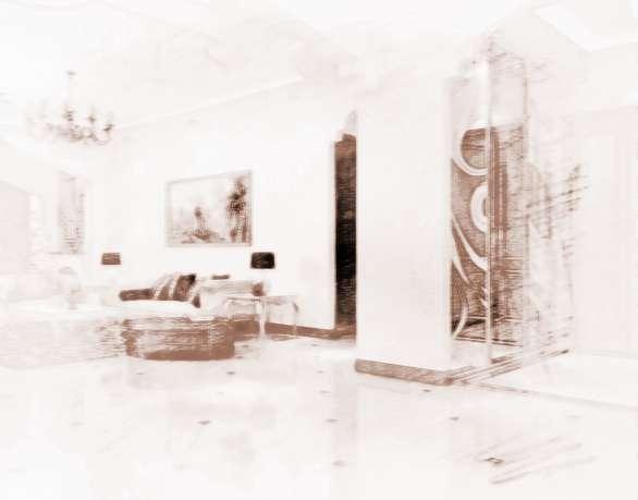 客厅拱门装修效果图欧式