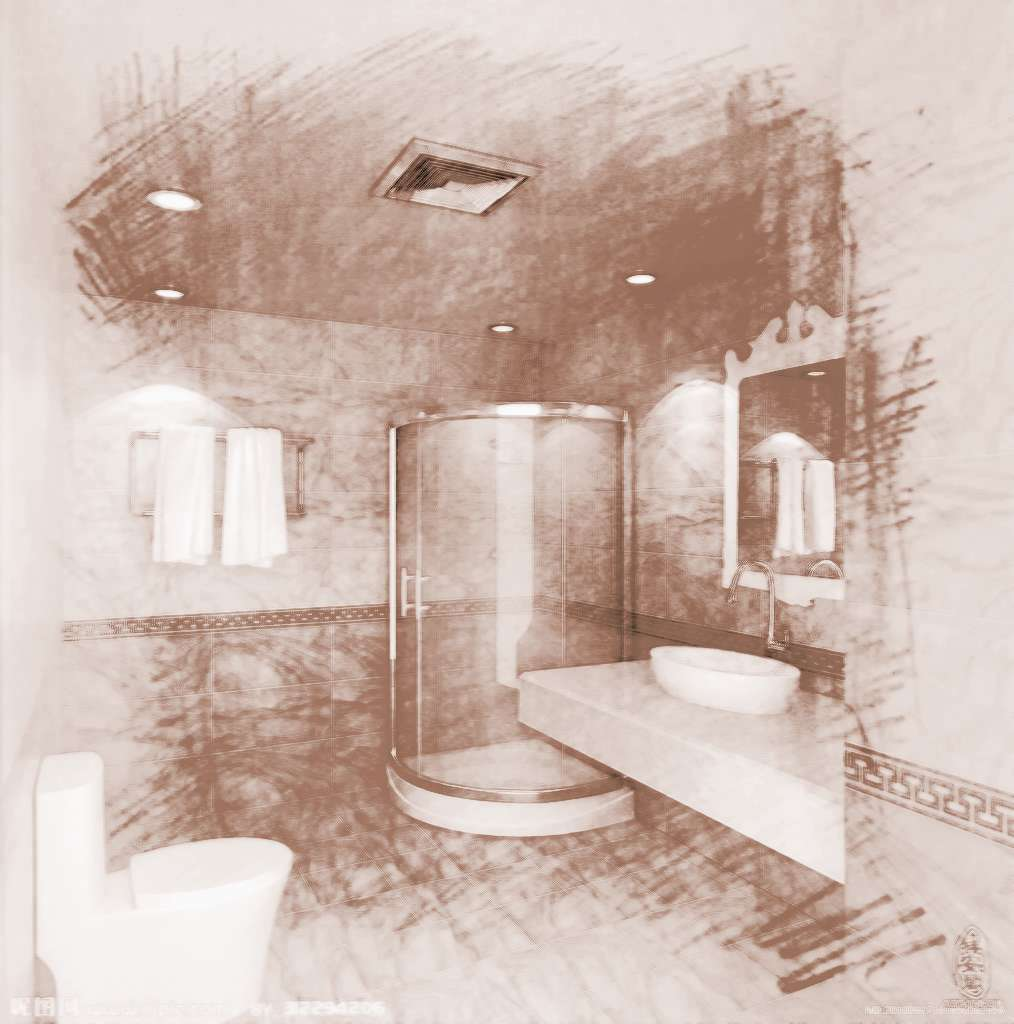 卫生间在阳宅风水中的冲射作用