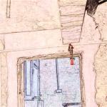横梁压门的正确图片 横梁压门的危害
